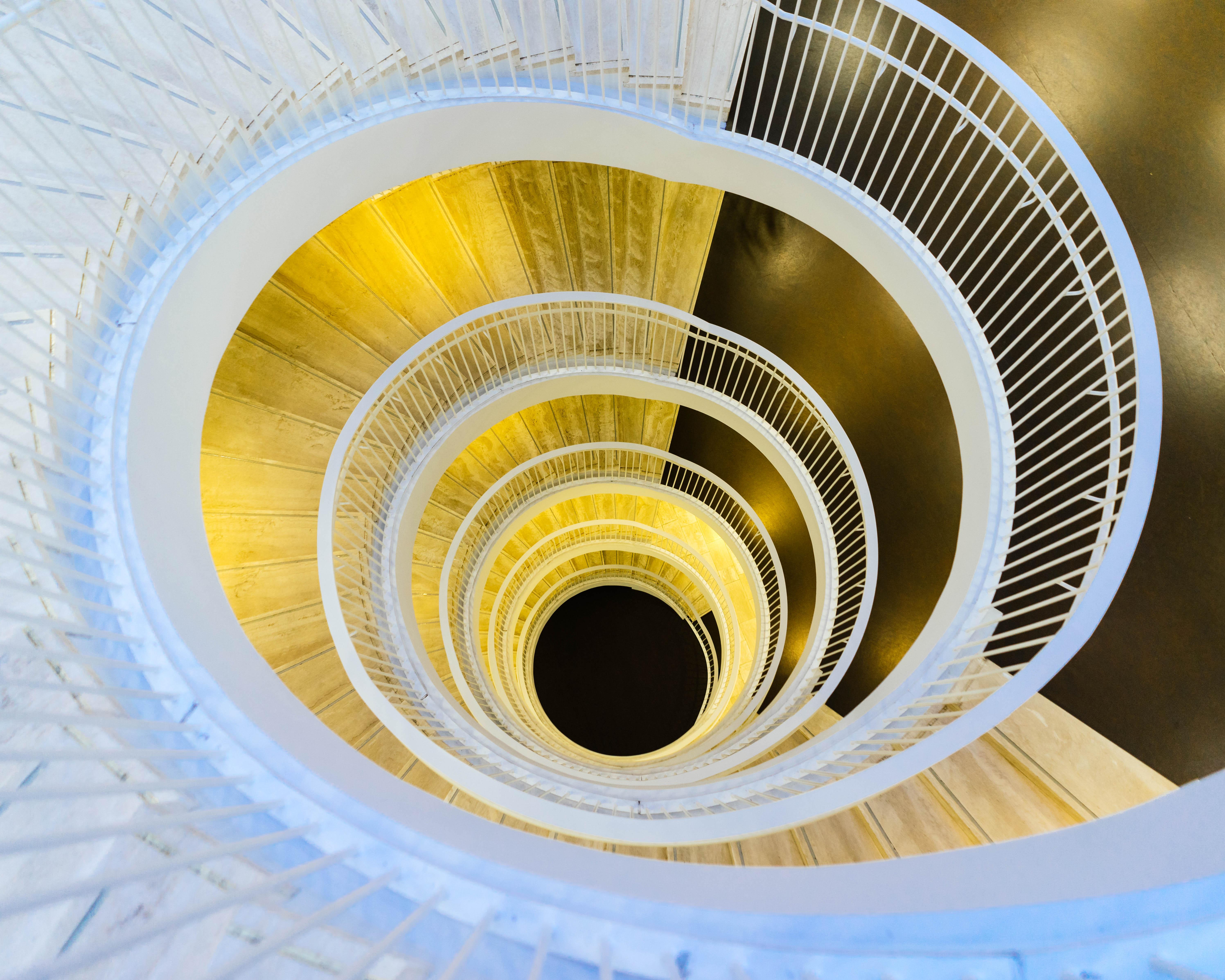 Spiral-Treppe