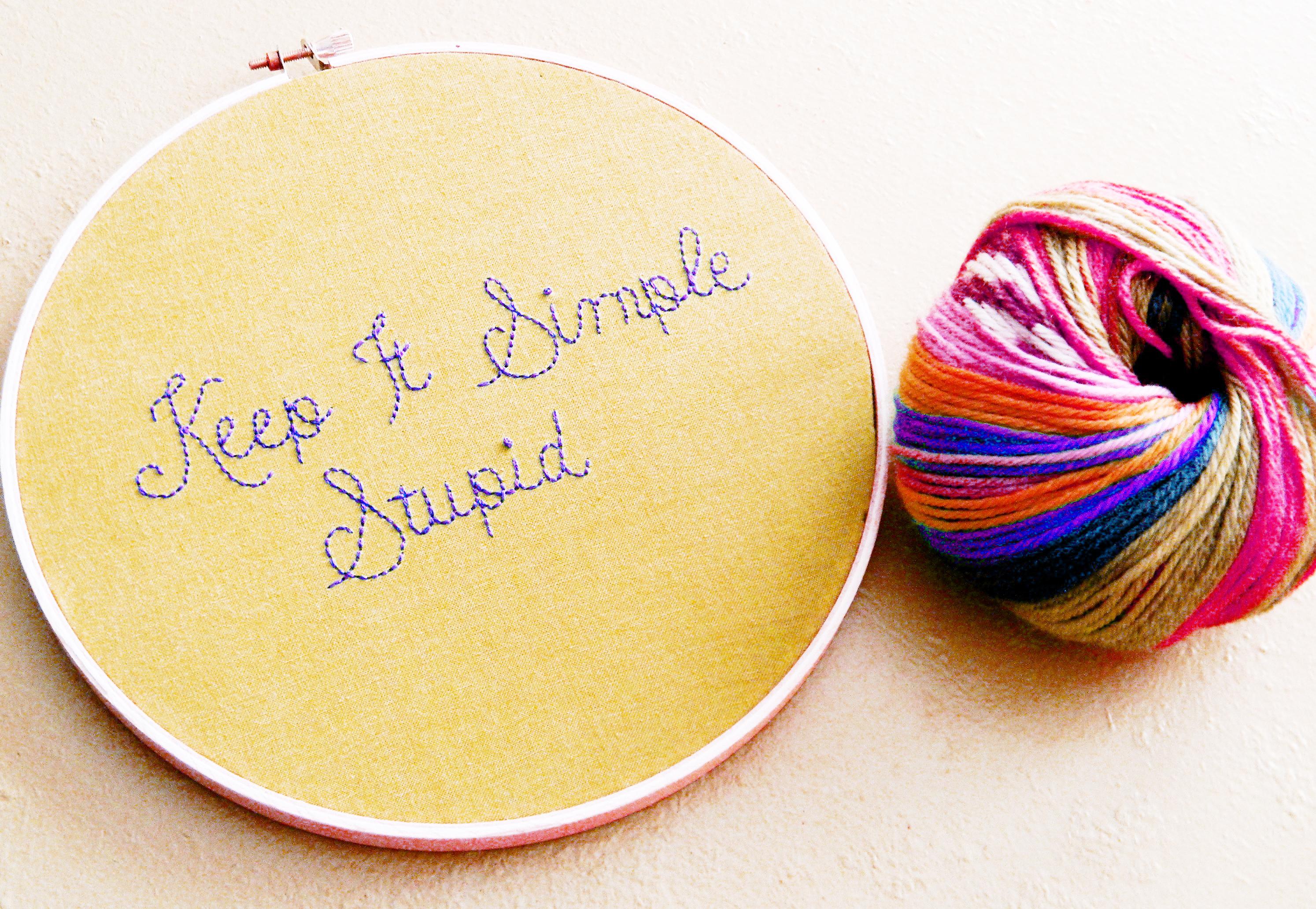 Keep it Simple, Stupid!